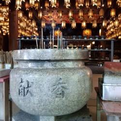 Urne encens Temple 1