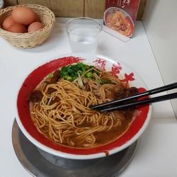 Tokushima Ramen noodles