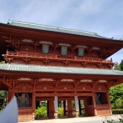 Entrée dans Kõyasan par la grande porte Daimon