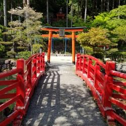 Jardin proche du Temple Kongõbu-ji