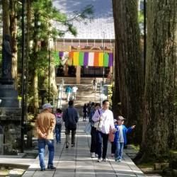 Montée vers le temple Gobyõ-Bashi Tõrõ-dõ