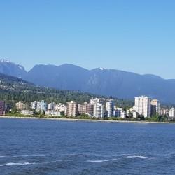 North Vancouver océan et montagne...