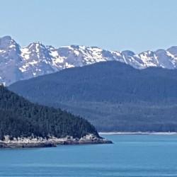 On approche de Juneau, capitale de l'Alaska