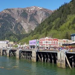 Arrivée Juneau capitale Alaska