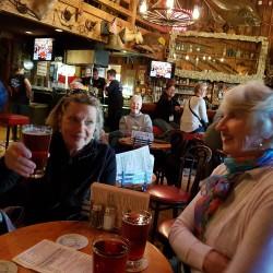 Ambiance dans le Red Dog Saloon Juneau