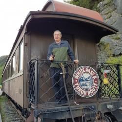 Train vers White pass Yukon