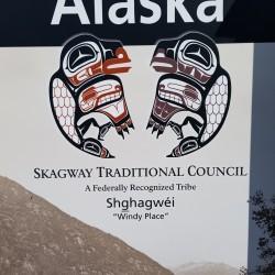 Indiens Skagway Alaska