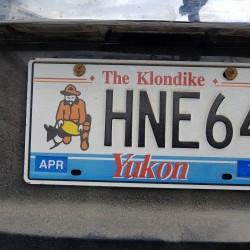 Plaque Yukon Canada
