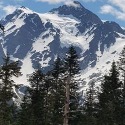 Mount Baker, les glaciers