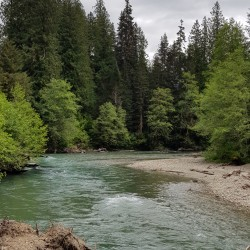 North Fork Nooksack River, Mount Baker National Recreation Area