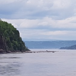 Saguenay vu de Chicoutimi