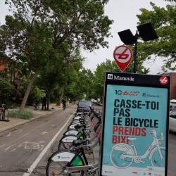 vélo en libre service: Bixi