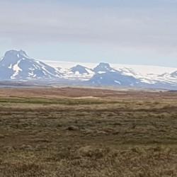 chaîne montagne galciers