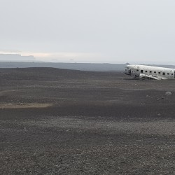 wrecked DC3 plane