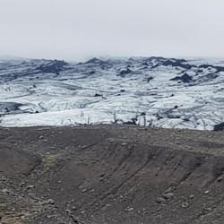 glacier Myrdalsjokull Jokulhaus